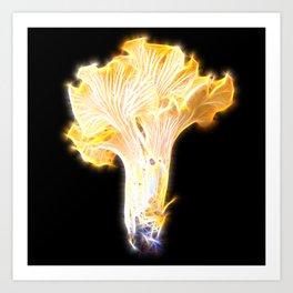 Magic Chanterelle Art Print