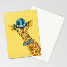I'm too SASSY for my hat! Vintage Painted Giraffe. Stationery Cards