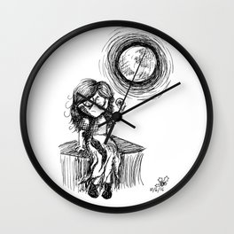 Who Said I Died, Puppy? Wall Clock