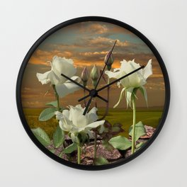 Flower of Light Wall Clock