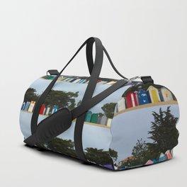 huts on the beach Duffle Bag