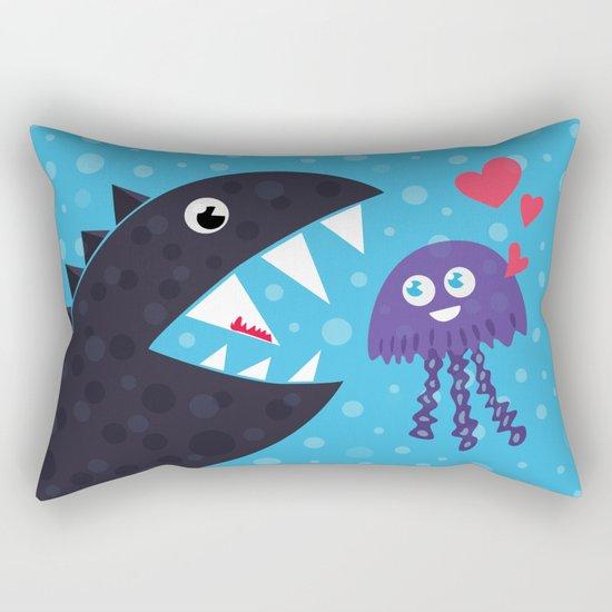 Impossible love Rectangular Pillow