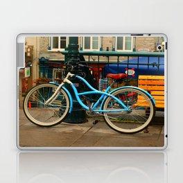 I love my blue bike Laptop & iPad Skin