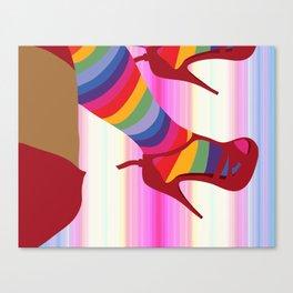 Falling... Canvas Print