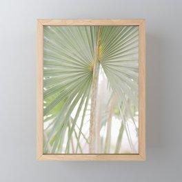 Palm Leaf Framed Mini Art Print
