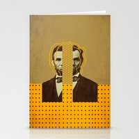 lincoln Stationery Cards featuring AbracadAbraham - Lincoln by AmDuf