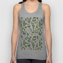 Cactiparty Part II  Unisex Tank Top