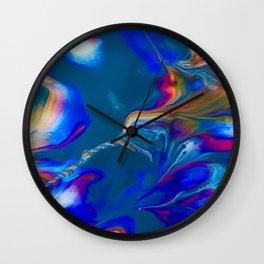 Hummingbird Nebula Wall Clock