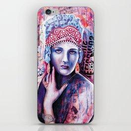 Reine de glace iPhone Skin