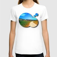 hiking T-shirts featuring Another lonely hiking trail by Patrick Jobst