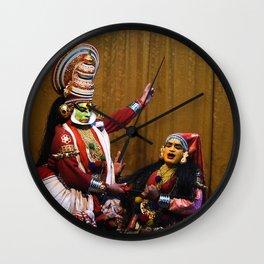 Kathakali Drama Wall Clock