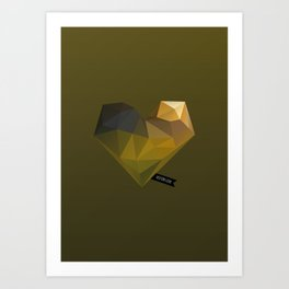 Vector Love 02 Art Print