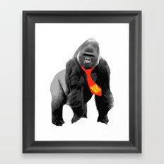 Donkey Kong Unpixeled Framed Art Print