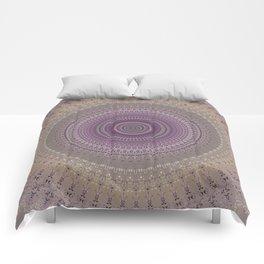 Elegant Lavender Mandala Comforters