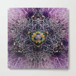 Burst No 1 Metal Print