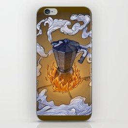 Coffee is ready! iPhone Skin