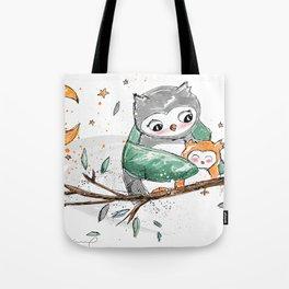 Magic Owls Tote Bag