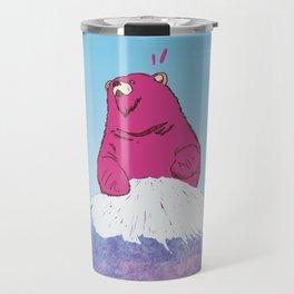 FUJI BEAR Travel Mug