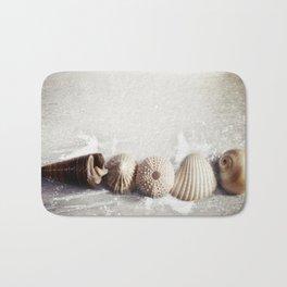Sea Shells by the Sea Shore Bath Mat