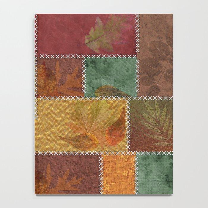 Stitches Of Autumn Notebook