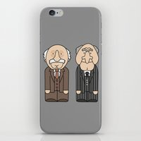 muppets iPhone & iPod Skins featuring Statler & Waldorf – The Muppets by Big Purple Glasses