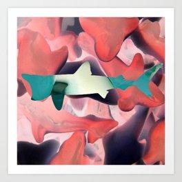 GummyShark Art Print