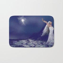 Dance with the moon Bath Mat