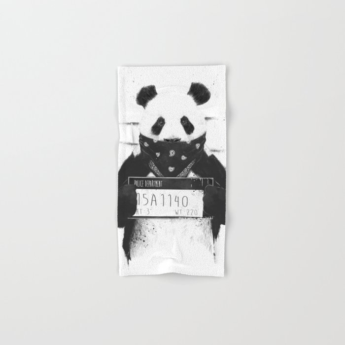 Bad panda Hand & Bath Towel