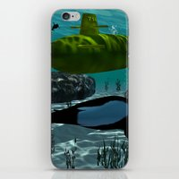 submarine iPhone & iPod Skins featuring Submarine by nicky2342