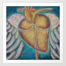 """Building Wings"" Art Print"