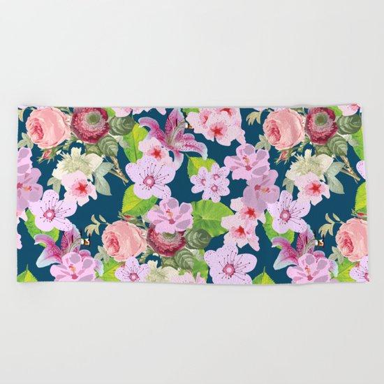 Pink Spring I Beach Towel
