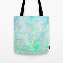 Light Blue Opal Tote Bag