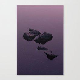 Yuba Sunset Canvas Print
