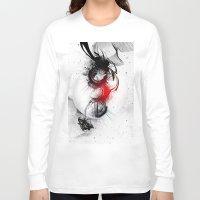women Long Sleeve T-shirts featuring women by  MuDi
