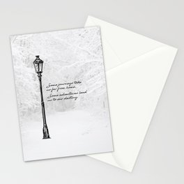 Chronicles of Narnia - Some adventures - CS Lewis Stationery Cards