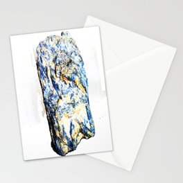 Kyanite crystall Gemstone Stationery Cards
