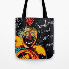 Always be proud of you street art graffiti Tote Bag