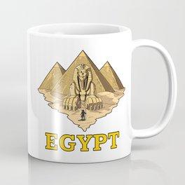 Egyptian Pyramids Sphinx Ancient Mythology Coffee Mug