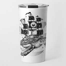 SAILING THROUGH THE UNIVERSE Travel Mug