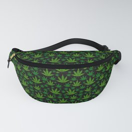 Tiled Weed Pattern Fanny Pack