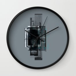 """""""Hundreds of Sparrows"""" Graphic Art Print Wall Clock"""