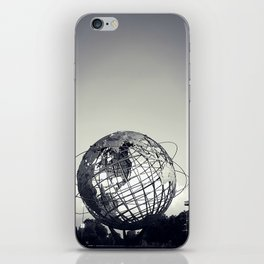 Unisphere at Flushing Meadows Park - New York City, Queens iPhone Skin