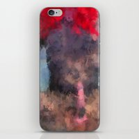 redhead iPhone & iPod Skins featuring Redhead by TARA SCHLAYER