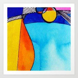 Magical Thinking 7A2 by Kathy Morton Stanion Art Print