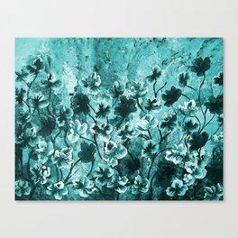 Dance Flowers Canvas Print