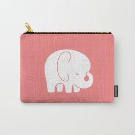 Mod Baby Elephant Coral Carry-All Pouch