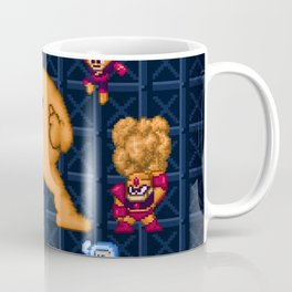 Man Mega One Pixels Coffee Mug