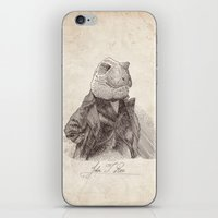 bouletcorp iPhone & iPod Skins featuring John T. Rex by Bouletcorp