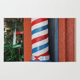 Blake's Barbershop Pole Vector I Rug