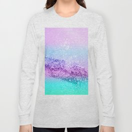 Unicorn Girls Glitter #14 #shiny #decor #art #society6 Long Sleeve T-shirt